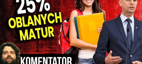26% uczniów oblało maturę, a Minister Edukacji jest zadowolony