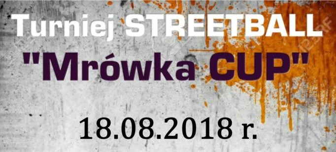 """Turniej Streeetball """"Mrówka CUP"""" w Starej Wsi"""