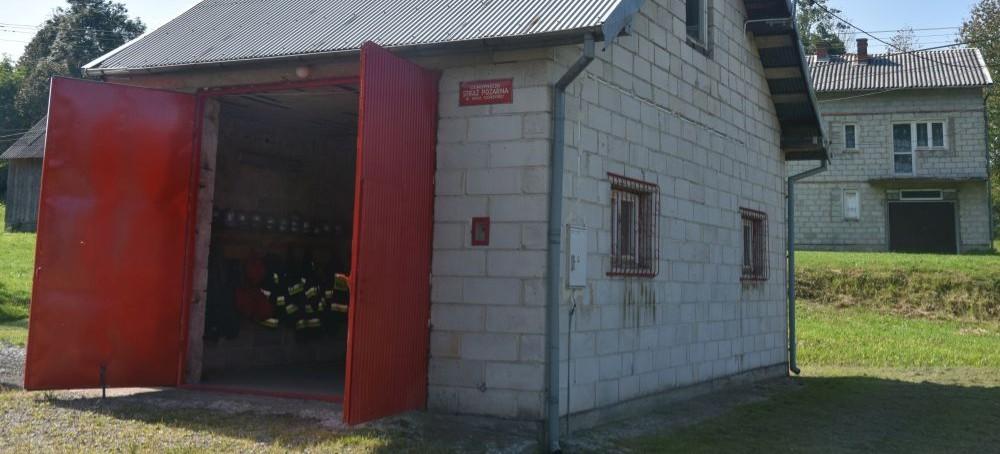 Rusza remont strażnicy OSP Wola Górecka (FOTO)