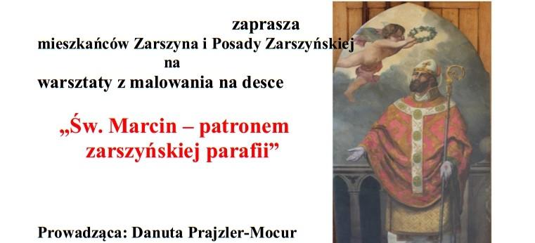 Warsztaty malowania na desce w Zarszynie