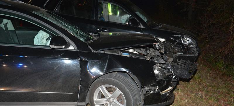 4 osoby w szpitalu w tym małe dziecko. 3 rozbite samochody. Pijany sprawca (ZDJĘCIA)