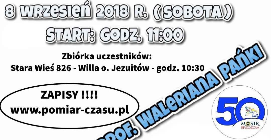 BRZOZÓW: Bieg im. Prof. Waleriana Pańko