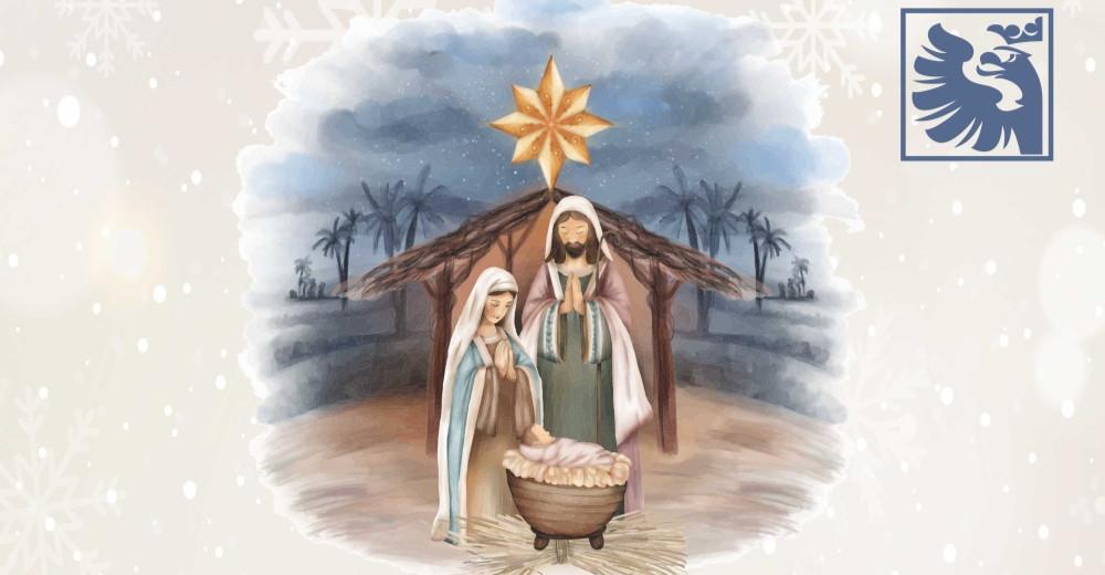 Życzenia na Boże Narodzenie składa Rektor Uczelni Państwowej