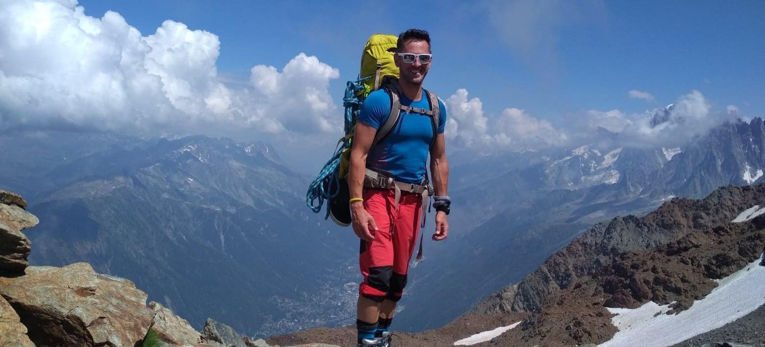 Pracownik UR zdobył Mont Blanc (FOTO)