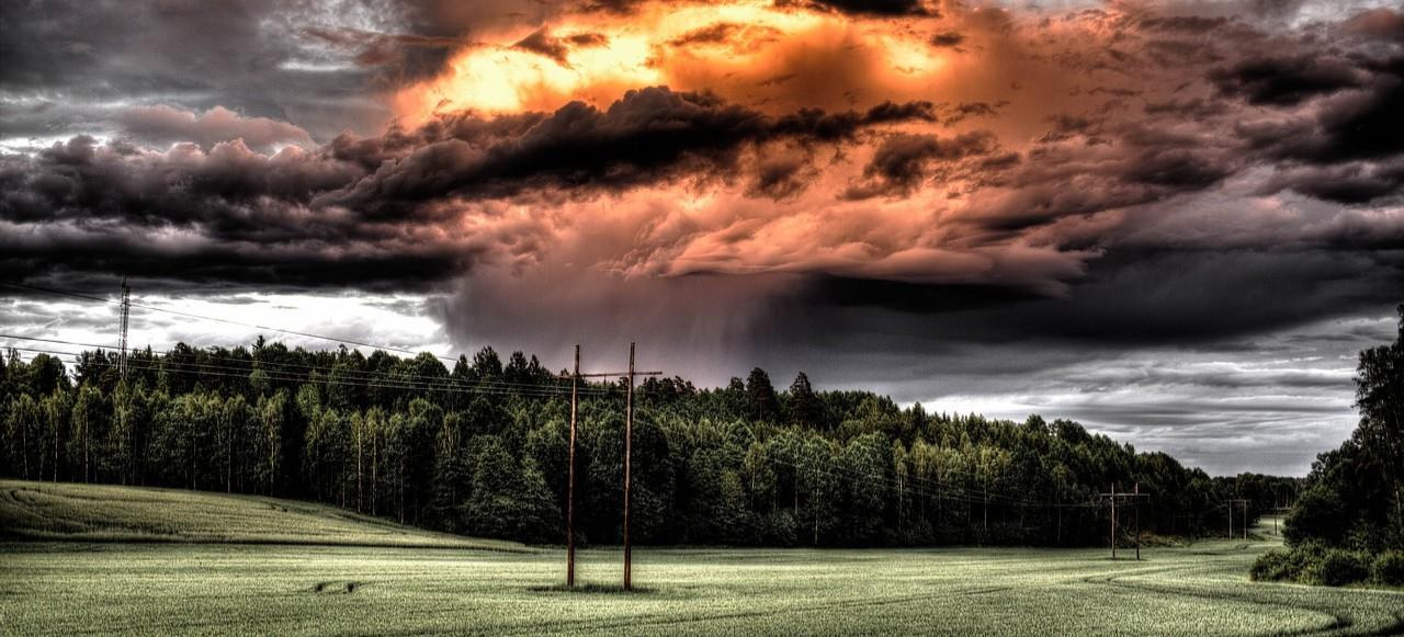 DZISIAJ: Ostrzeżenie przed burzami z gradem!