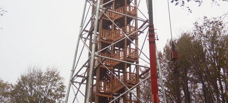 W Bieszczadach powstaje kolejna wieża widokowa