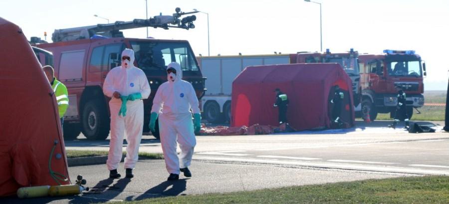"""Zagrożenie epidemiologiczne na lotnisku w Jasionce – """"PATROL-18"""""""