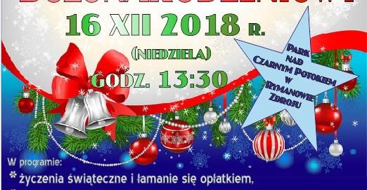 Jarmark Bożonarodzeniowy w Rymanowie-Zdroju (PROGRAM)