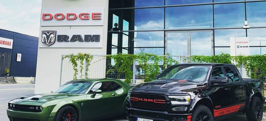 Pierwszy na Podkarpaciu salon legendarnych amerykańskich marek samochodowych