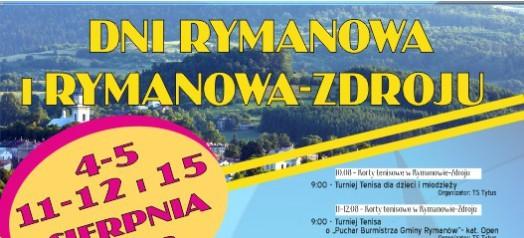 Dni Rymanowa i Rymanowa-Zdroju