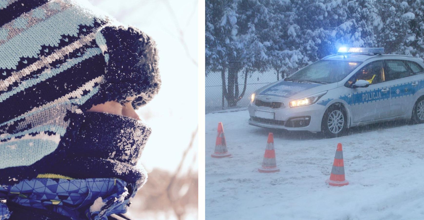 17-latek zamarzał w śniegu. Nie mógł się podnieść!