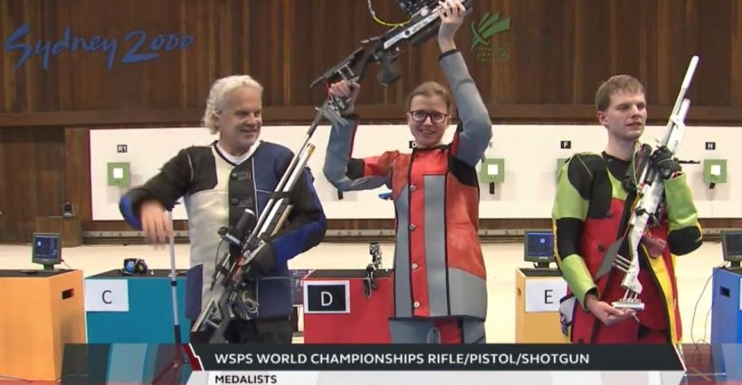 Zawodniczka z Podkarpacia została mistrzynią świata w strzelectwie pneumatycznym!