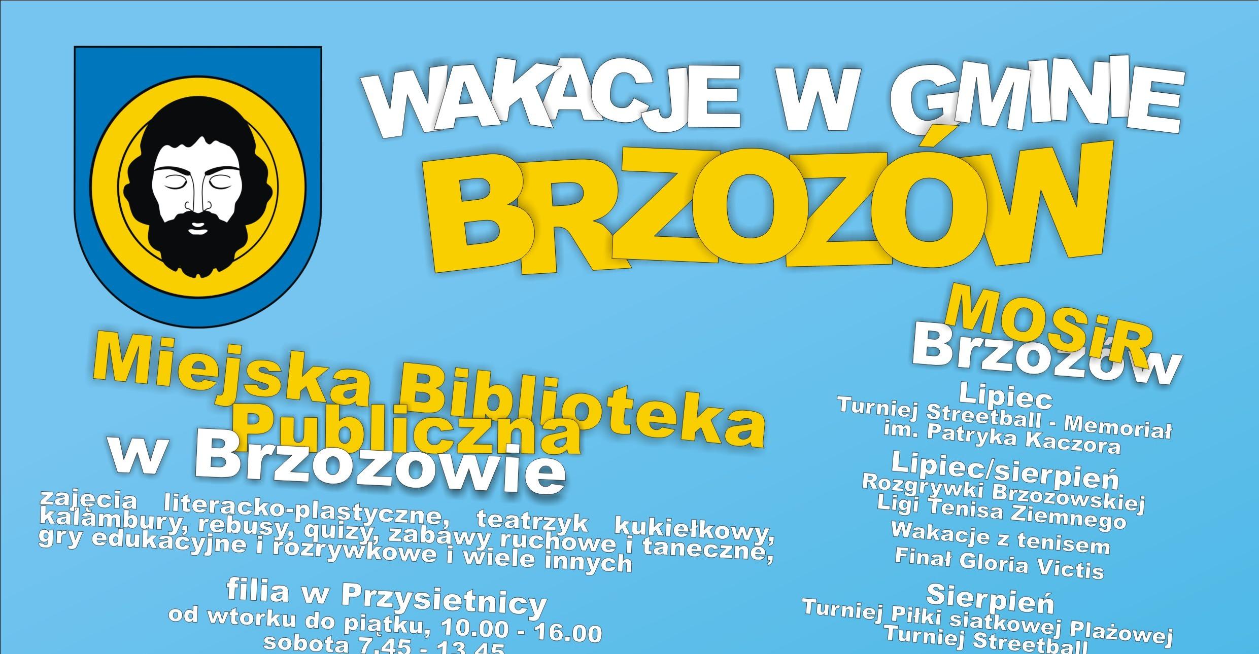 Wakacje w Gminie Brzozów