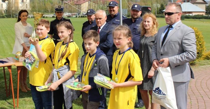 Powiatowy Turniej Bezpieczeństwa Ruchu Drogowego dla uczniów z terenu powiatu brzozowskiego