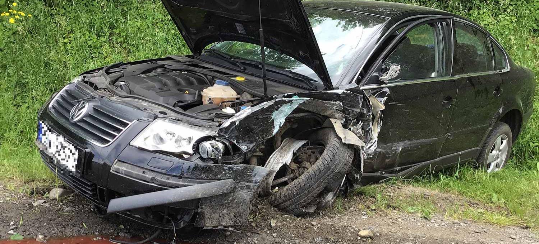 SANOK. Niebezpiecznie na Okulickiego! Samochody zderzyły się z ogromną siłą (ZDJĘCIA)