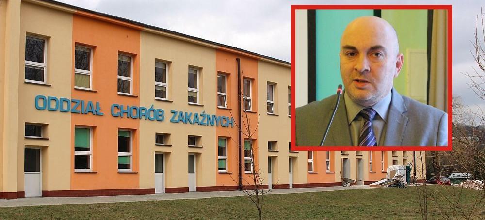 """SZPITAL SANOK: Oddział zakaźny znów """"Covid-owy""""!"""