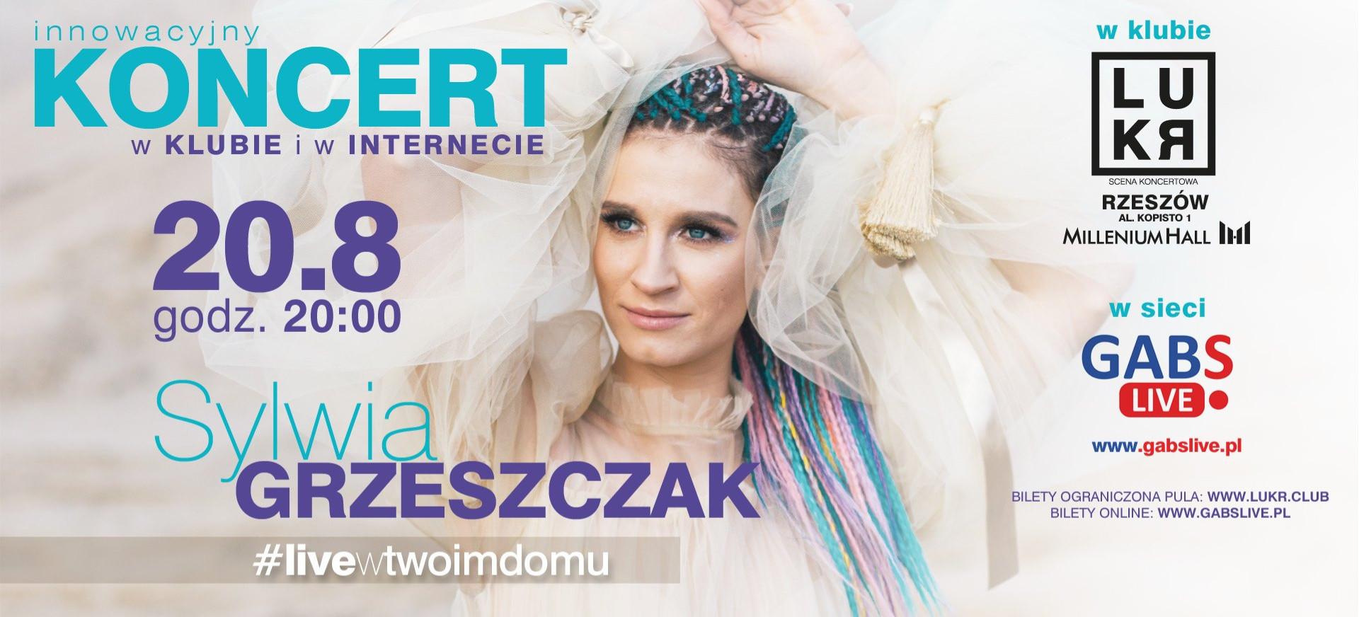 Koncert Sylwii Grzeszczak w klubie LUKR