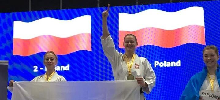 Rzeszowianka potrójną mistrzynią Europy w karate!