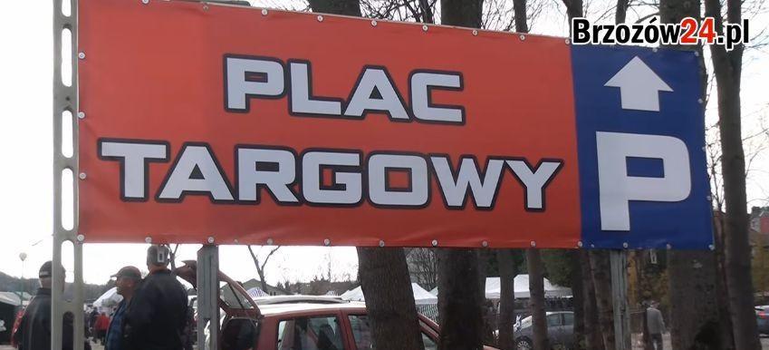 BRZOZÓW: Od 4 maja Targowisko Miejskie znów czynne