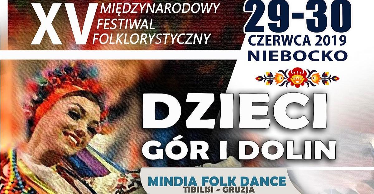 """Jubileuszowa edycja Międzynarodowego Festiwalu Folklorystycznego """"Dzieci Gór i Dolin"""""""