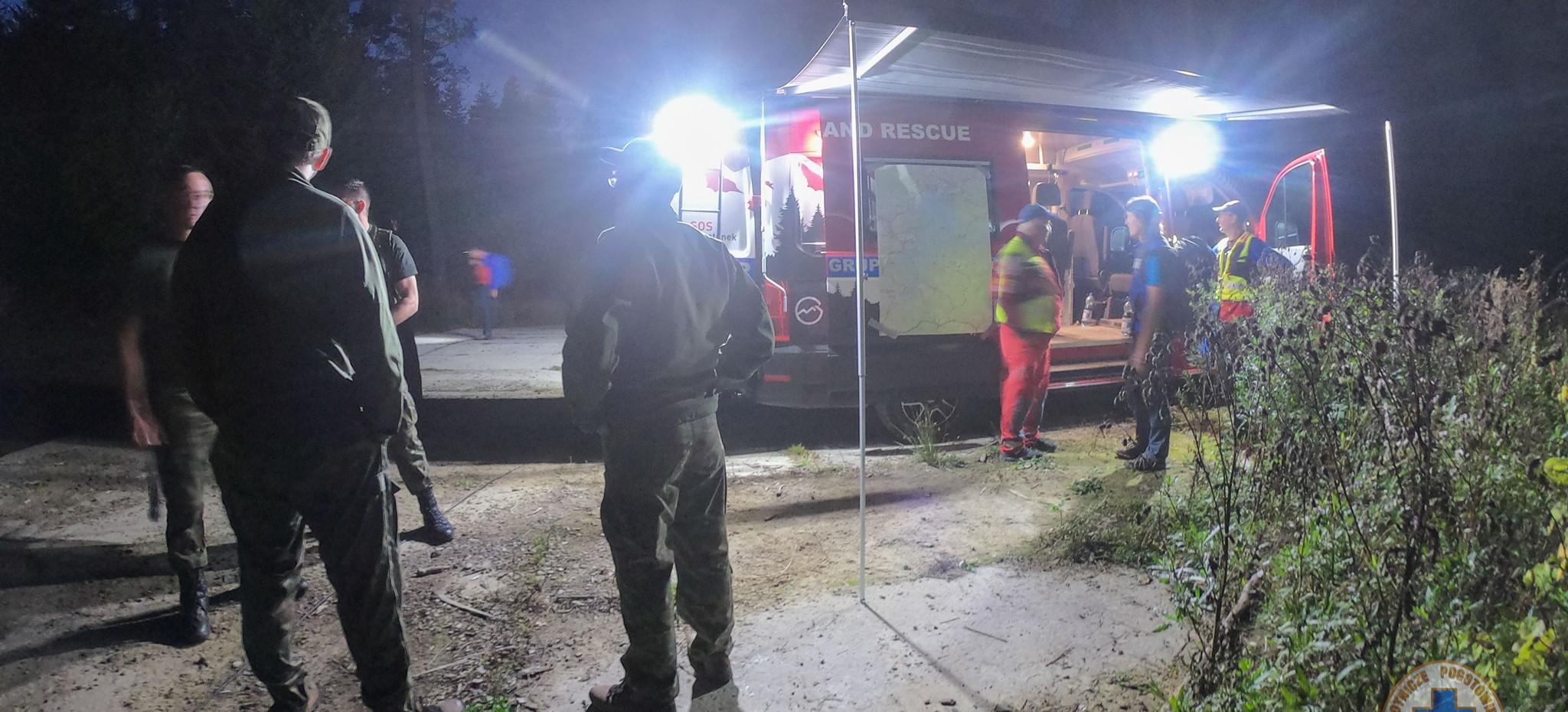 Wypadek awionetki nad Jeziorem Solińskim. Współpraca służb ratunkowych (FOTO)