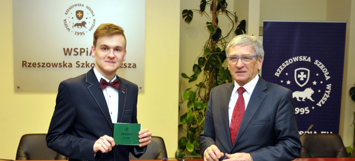 WSPiA wesprze młody prawniczy talent z Łańcuta