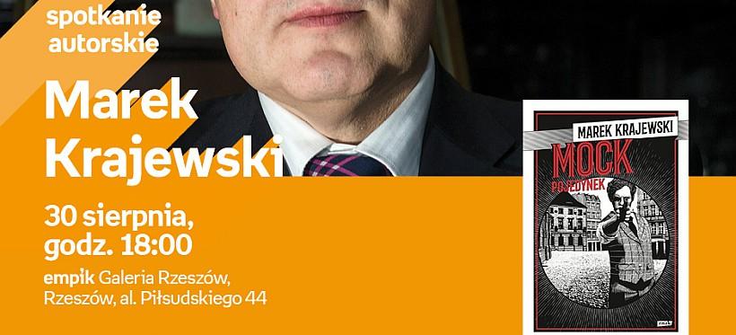 Spotkanie z Markiem Krajewskim w rzeszowskim Empiku