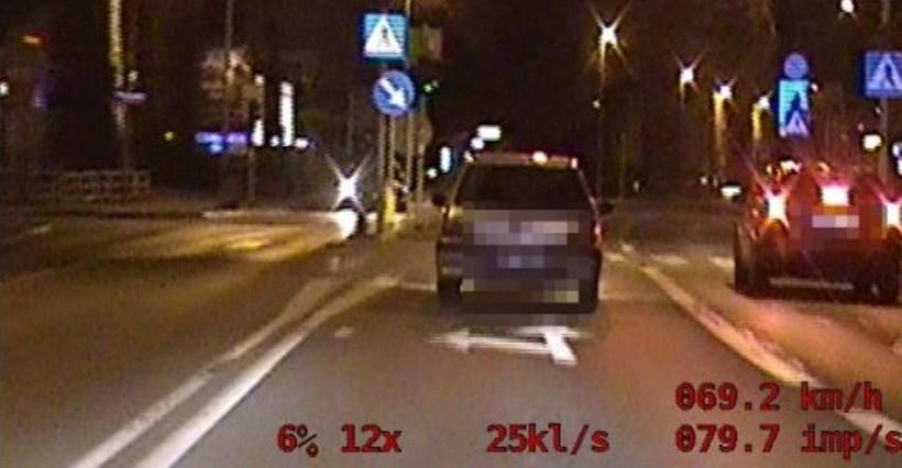 Policyjny pościg na ulicach Rzeszowa! Uciekinier był pijany! (WIDEO)