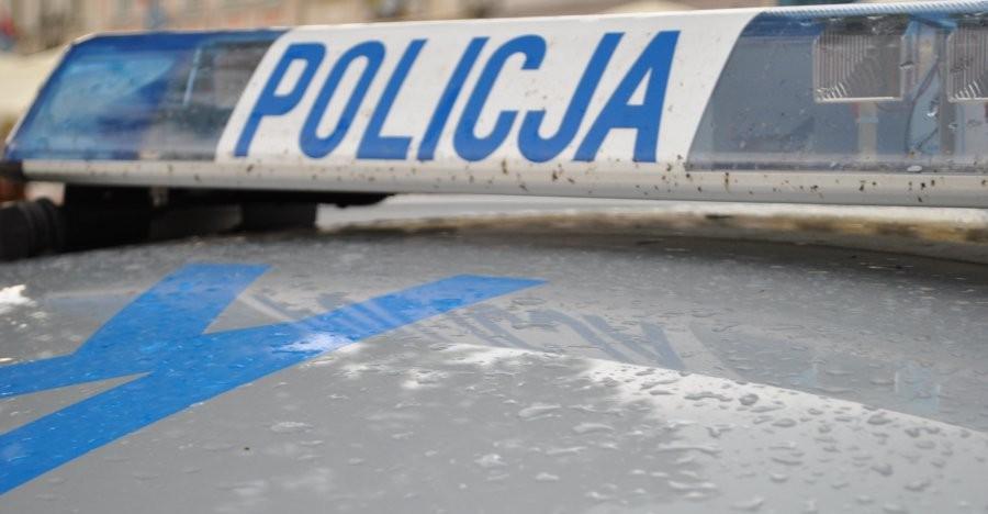 Podejrzany o kradzież rusztowań znieważył policjanta