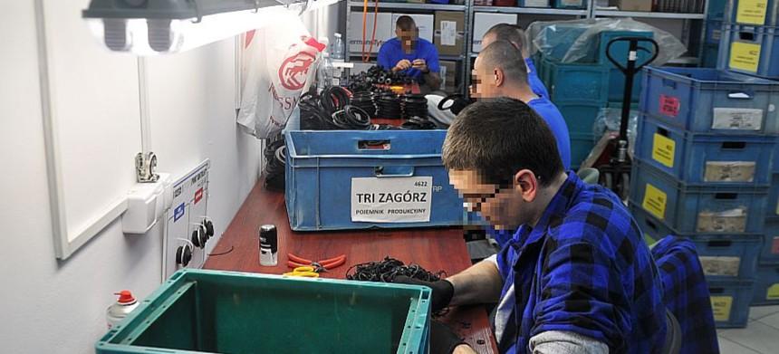 90 miejsc pracy odpłatnej dla osadzonych w Uhercach Mineralnych (FOTO)