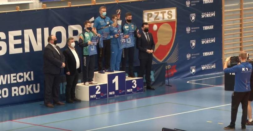 Tenisista stołowy AZS Politechniki Rzeszowskiej zwyciężył w Grand Prix Polski! (WIDEO)