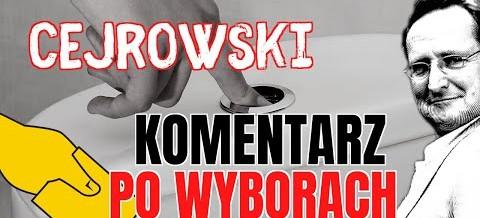 Wojciech Cejrowski po wyborach
