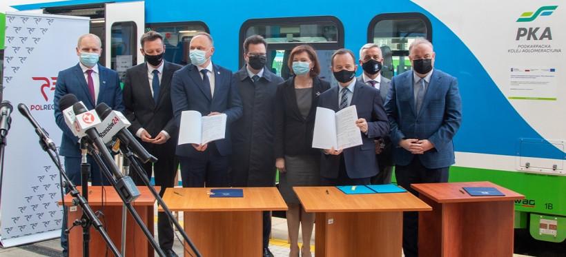 Podkarpacka Kolej Aglomeracyjna. Rusza budowa zaplecza technicznego dla pociągów! (VIDEO, ZDJĘCIA)