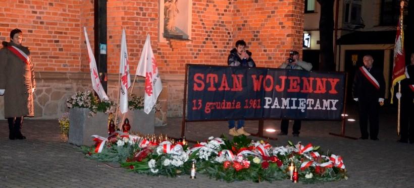 RZESZÓW: 38. rocznica wprowadzenia stanu wojennego w Polsce