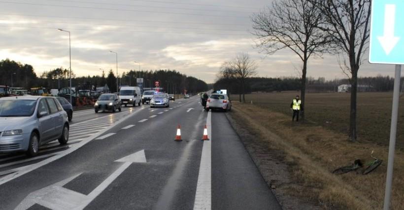 Wypadek na drodze relacji Rzeszów-Kolbuszowa! Jedna osoba ranna (FOTO)