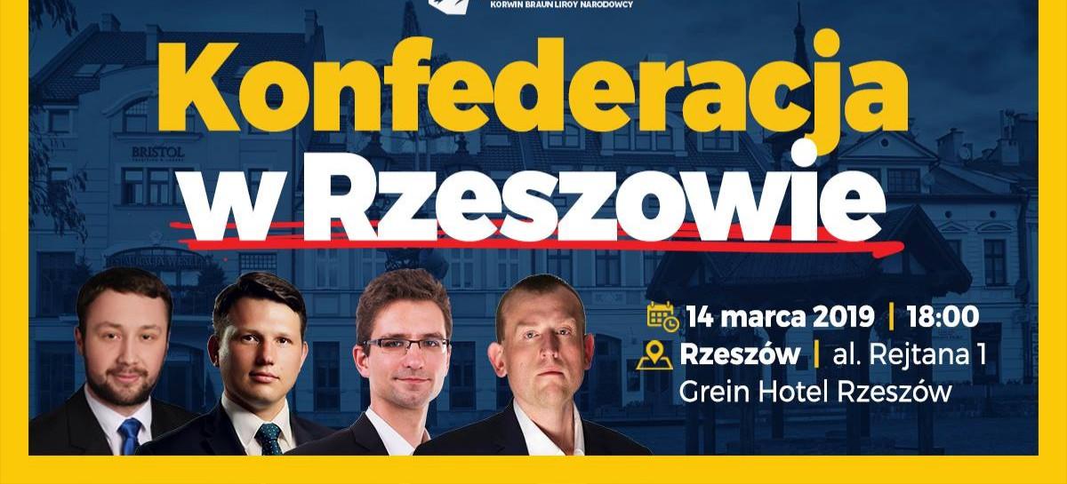 DZISIAJ: Sławomir Mentzen i Michał Wawer w Rzeszowie!