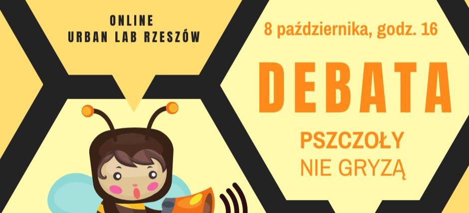 Debata online nt. Pszczoły nie gryzą