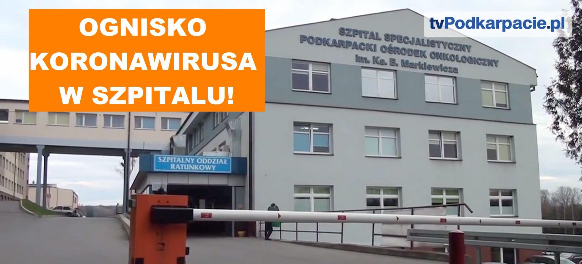 Koronawirus w brzozowskim szpitalu! Duże ognisko!