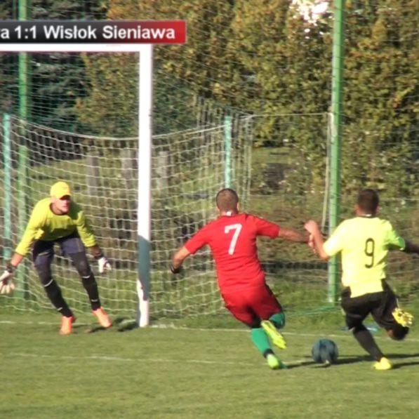 Gimball Tarnawa - Wisłok Sieniawa 2:2. Zremisowaliśmy wygrany mecz (SKRÓT VIDEO)