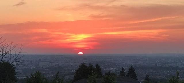 RZESZÓW: Malowniczy zachód słońca na Słocinie! (ZDJĘCIE)