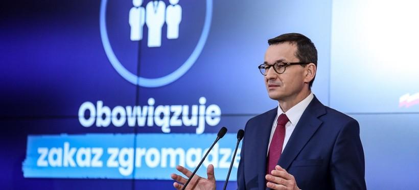 POLSKA. Premier wprowadził OGRANICZENIE PRZEMIESZCZANIA! (WIDEO)