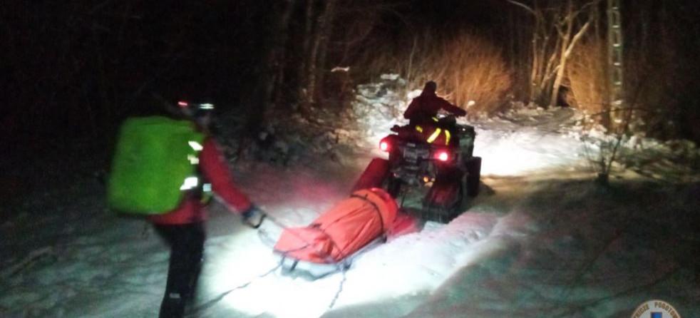 Akcja ratunkowa w Bieszczadach. Mężczyzna ze złamaną nogą (FOTO)