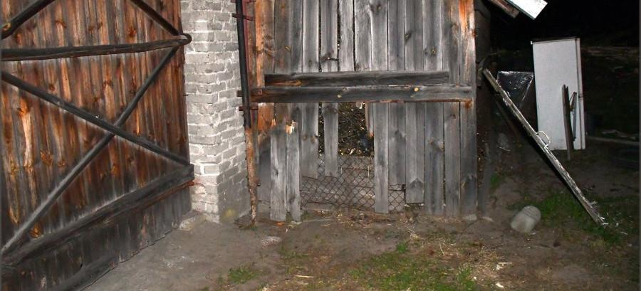 Usiłował podpalić stodołę swoich krewnych