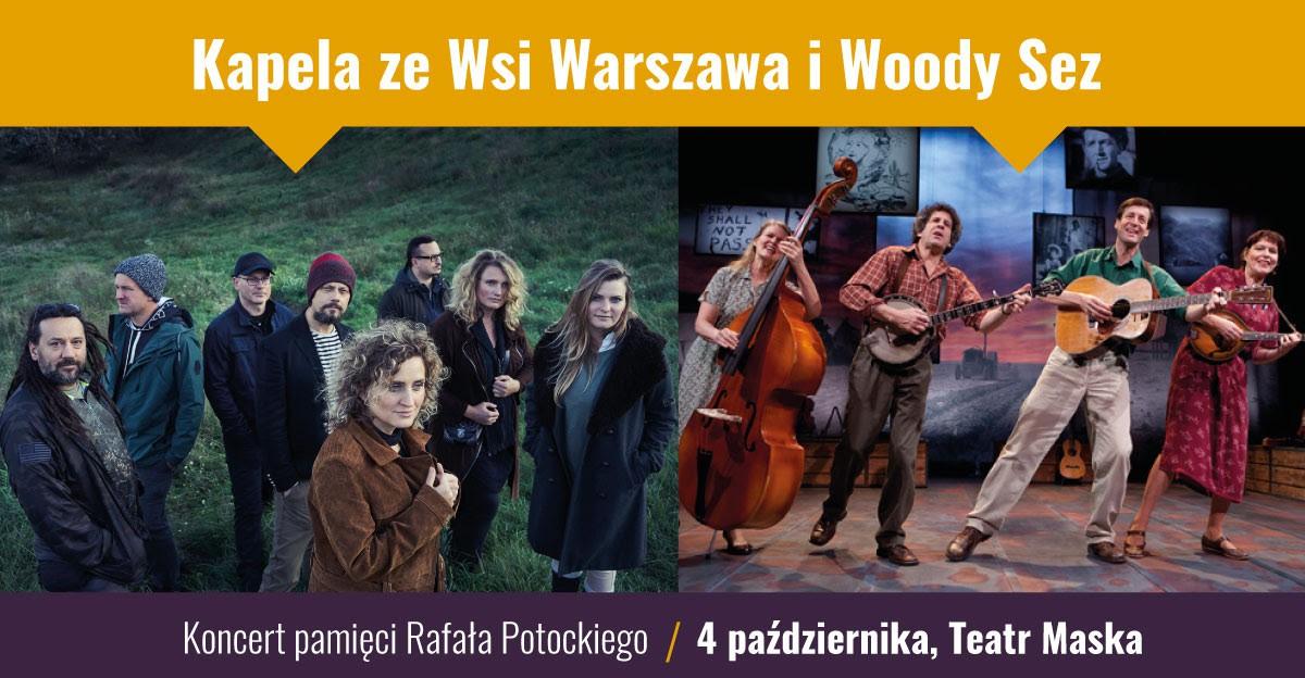 Kapela ze Wsi Warszawa oraz Woody Sez zagrają w Rzeszowie