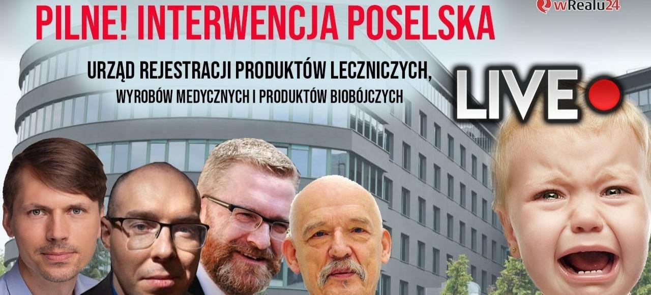 PILNE! Braun, Pospieszalski i dr Ratkowska! Interwencja poselska ws. eksperymantów na dzieciach w Polsce!?