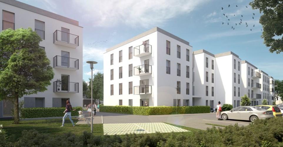 DĘBICA: Wbito łopatę pod budowę 201 mieszkań (ZDJĘCIA)
