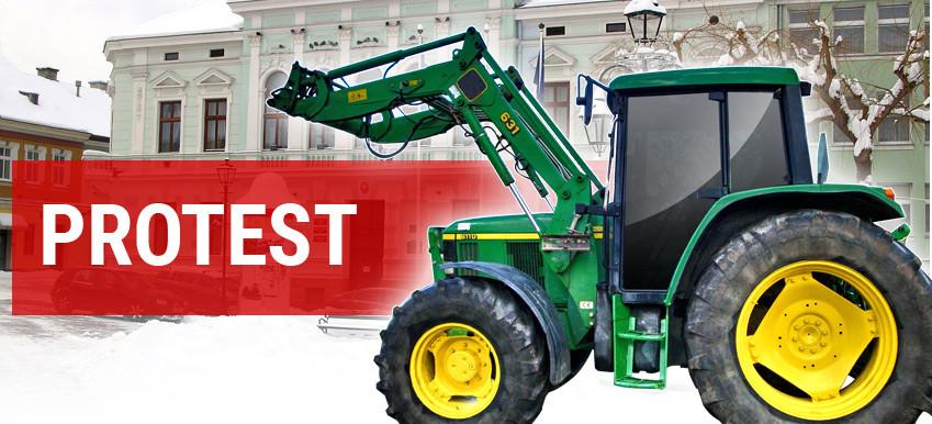 SANOK. Strajk rolników! Wjadą do miasta traktorami