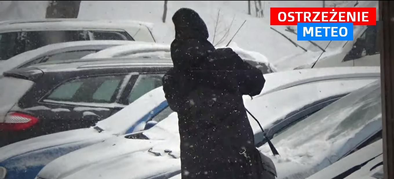 Może spaść nawet 30 cm śniegu!