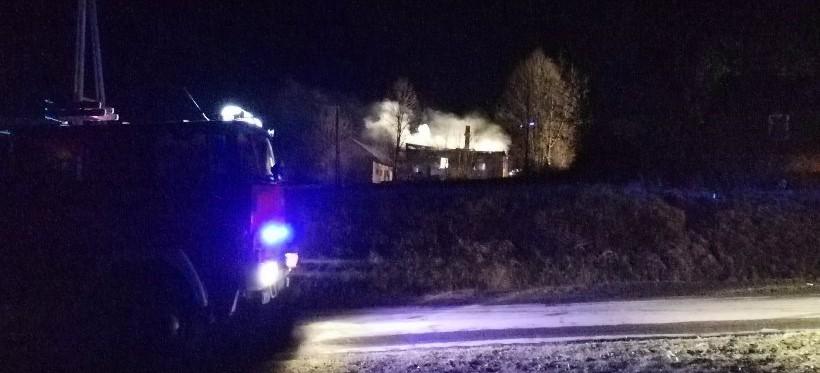 Tragiczny pożar pod Rzeszowem! Nie żyje 60-latek