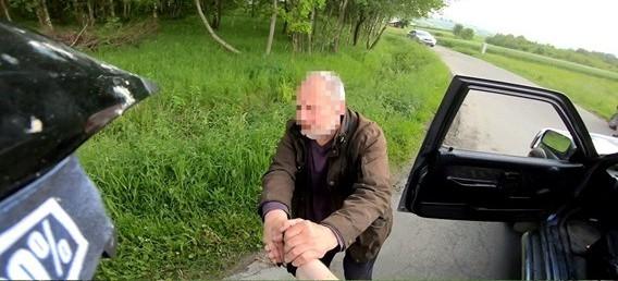 Kolbuszowski przedsiębiorca zatrzymał pijanego kierowcę! (FOTO)